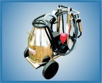 aparat individual de muls de tip MS1 cu bidon de lapte