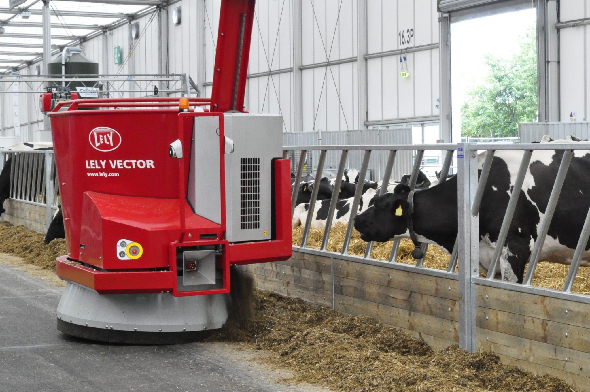 Echipamente de hranire a vacilor